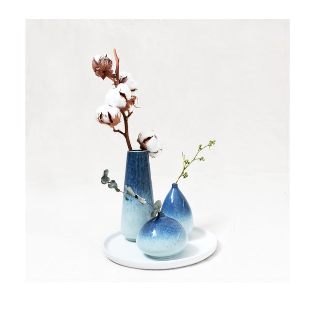 Galaxy Glaze Vase - Cylinder - 3