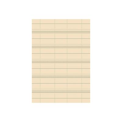 Essenza Plaid Rug - Cream