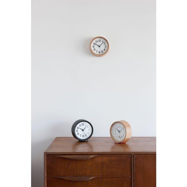 Clock A Small - Black - 2