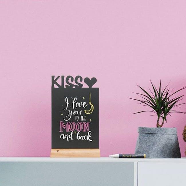 "Securit ""Kiss"" Table Chalkboard - 1"