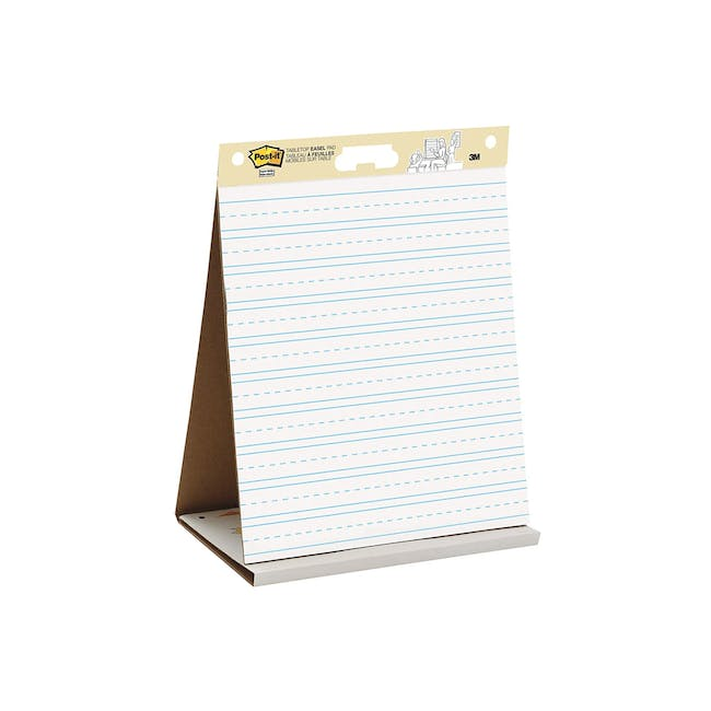 Post-it® Super Sticky Table Top Easel Pad Lined - 0