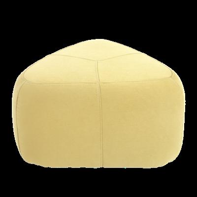 Cirrus Big Triangle Pouf - Pistachio - Image 1