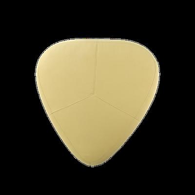 Cirrus Big Triangle Pouf - Pistachio - Image 2