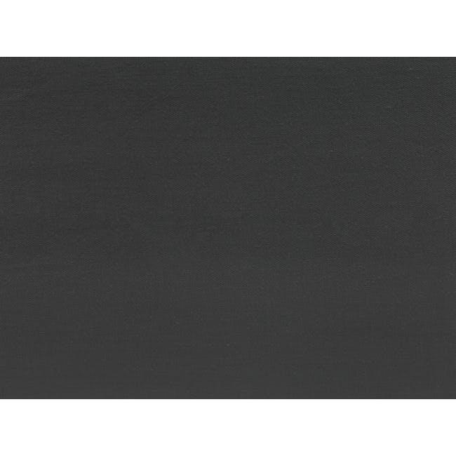 (King) Aurora Duvet Cover - Granite - 3
