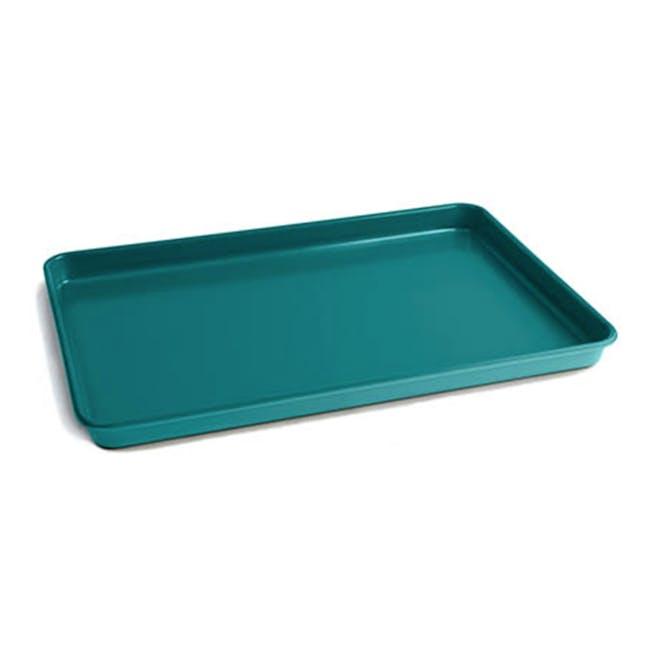 Jamie Oliver Atlantic Green Non-Stick Baking Tray - 0
