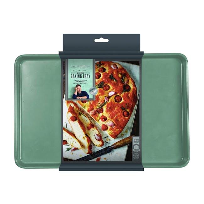Jamie Oliver Atlantic Green Non-Stick Baking Tray - 2