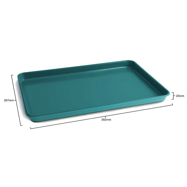 Jamie Oliver Atlantic Green Non-Stick Baking Tray - 3