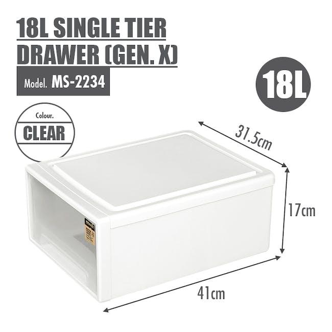 18L Single Tier Drawer (Gen.X) - 4