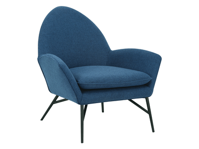 Esther Lounge Chair - Midnight Blue - Image 2