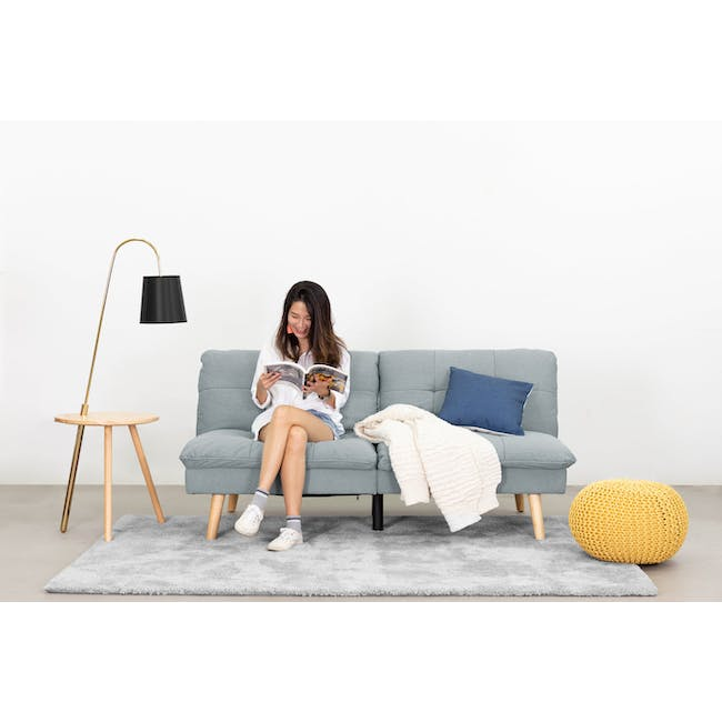 Alonso Floor Lamp / Side Table - 1