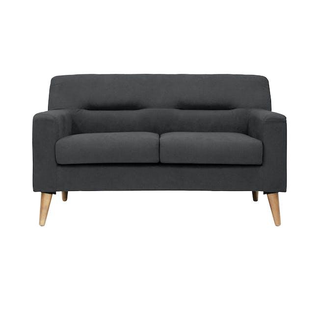 Damien 2 Seater Sofa - Onyx Grey - 0