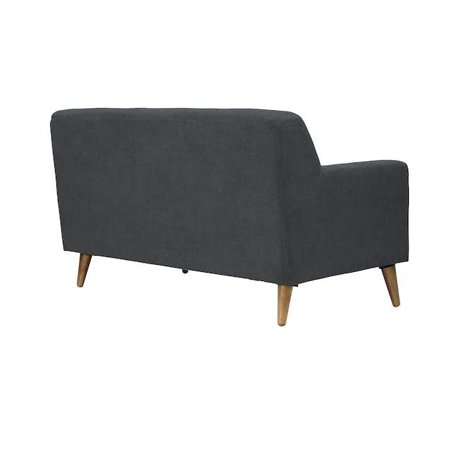 Damien 2 Seater Sofa - Onyx Grey - 4
