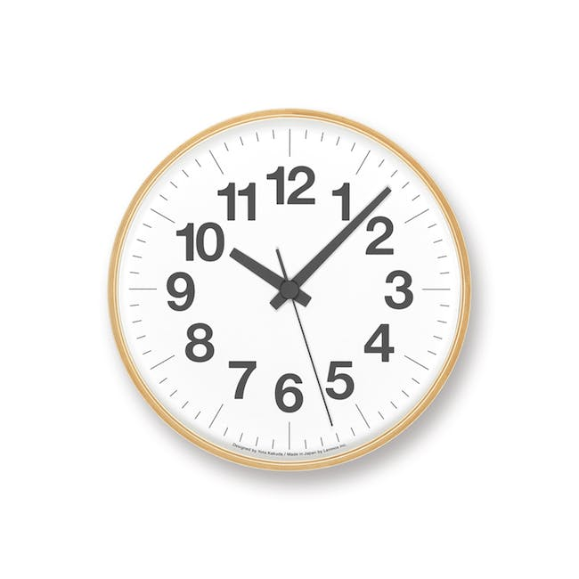 Numbers Clock PLY - 0
