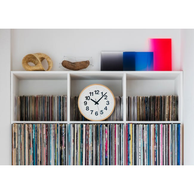Numbers Clock PLY - 2