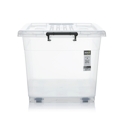 95L Storage Box with Wheels - Image 2