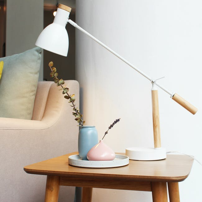 Nordic Matte Vase Flat Bud - Dusty Pink - 4