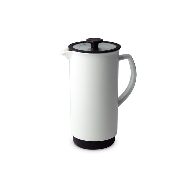Forlife Café Style Coffee Press - White - 0
