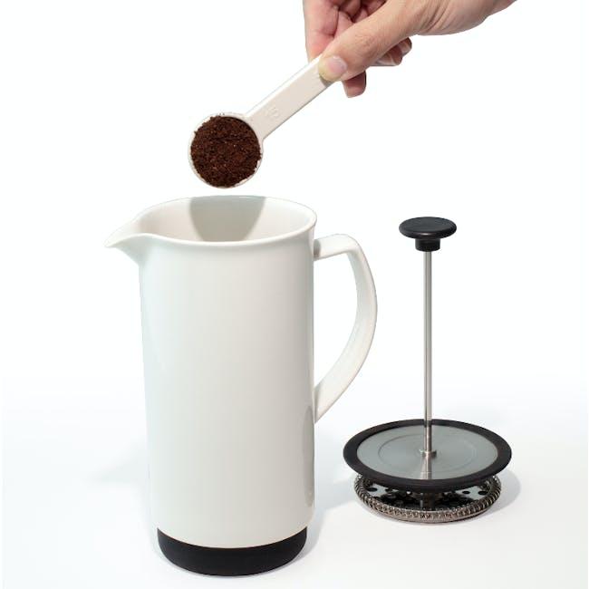 Forlife Café Style Coffee Press - White - 1