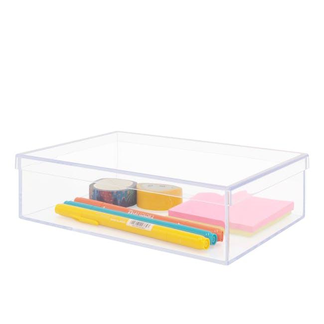 Nakabayashi Acrylic Tray + Lid - Wide - 1