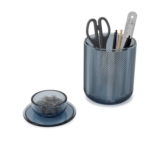 Allira Glass Organiser - Blue - 3