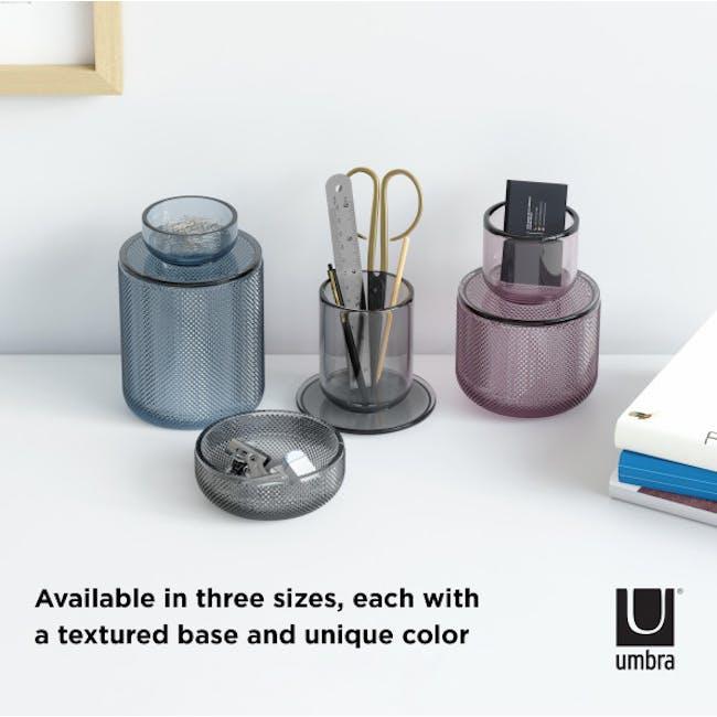 Allira Glass Organiser - Blue - 5