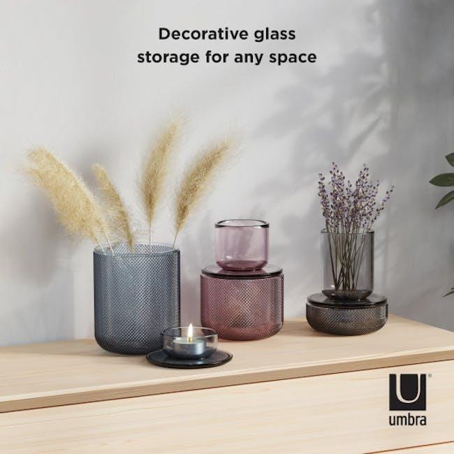 Allira Glass Organiser - Blue - 4