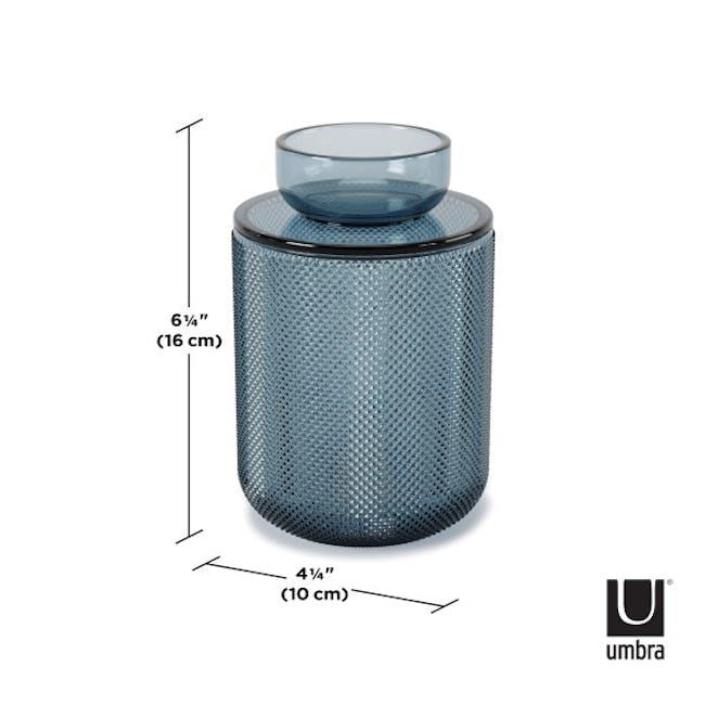 Allira Glass Organiser - Blue - 7