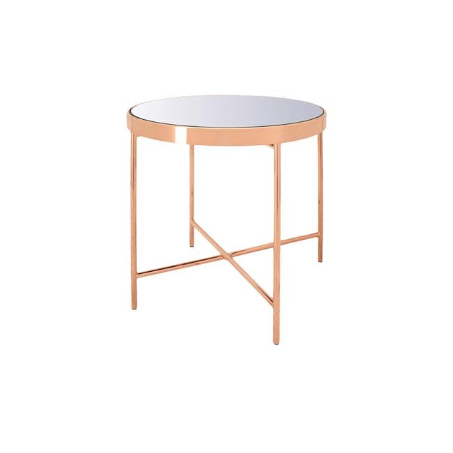 Xander Mirror Side Table - 0