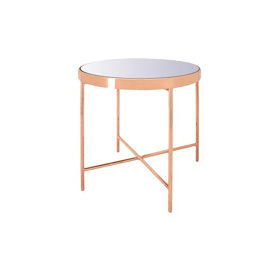 Helga - Xander Mirror Side Table