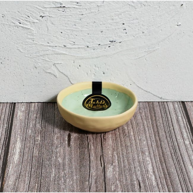 Table Matters Tsuchi Mint Saucer - 1