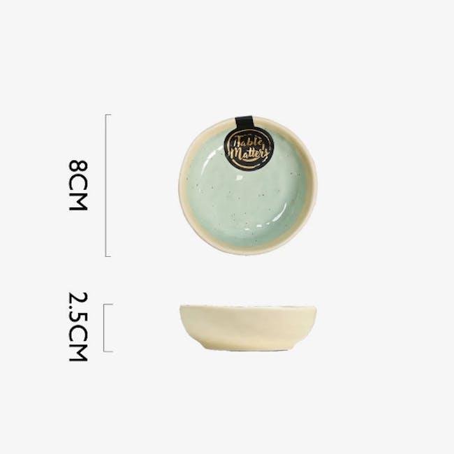 Table Matters Tsuchi Mint Saucer - 3