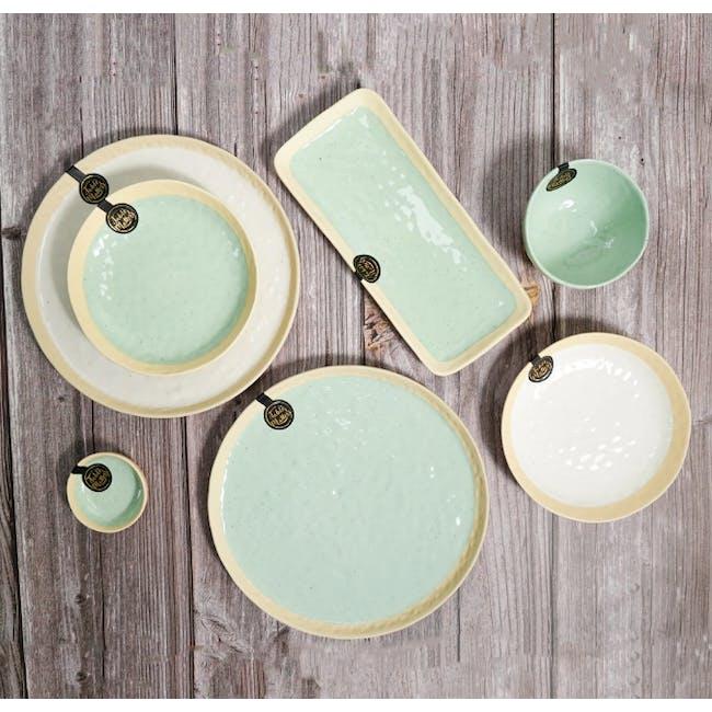 Table Matters Tsuchi Mint Saucer - 2