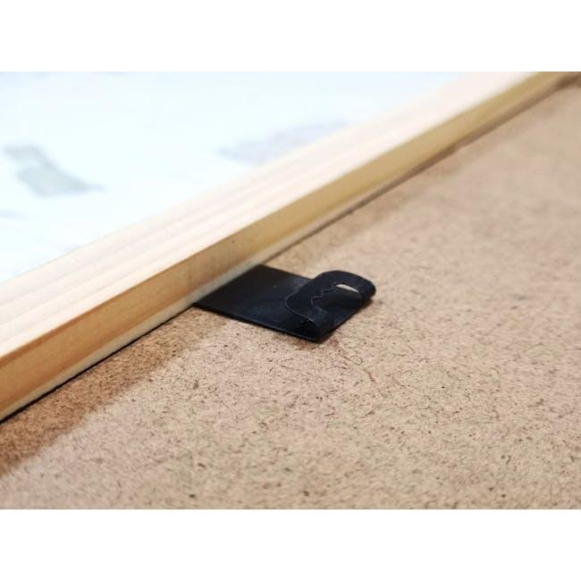 A4 Size Wooden Frame - Black - 2