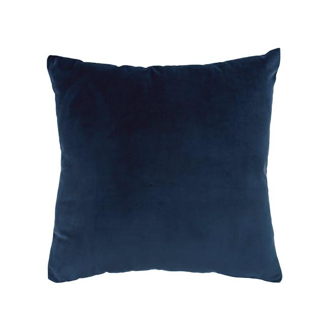 Alyssa Velvet Cushion - Ultramarine - 0