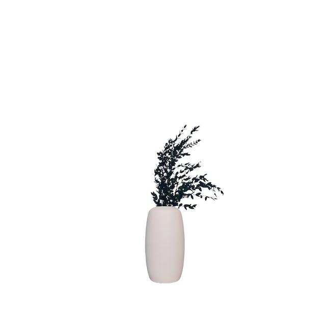Medium Cylinder Floral Clay Vase - Design 2 - 0