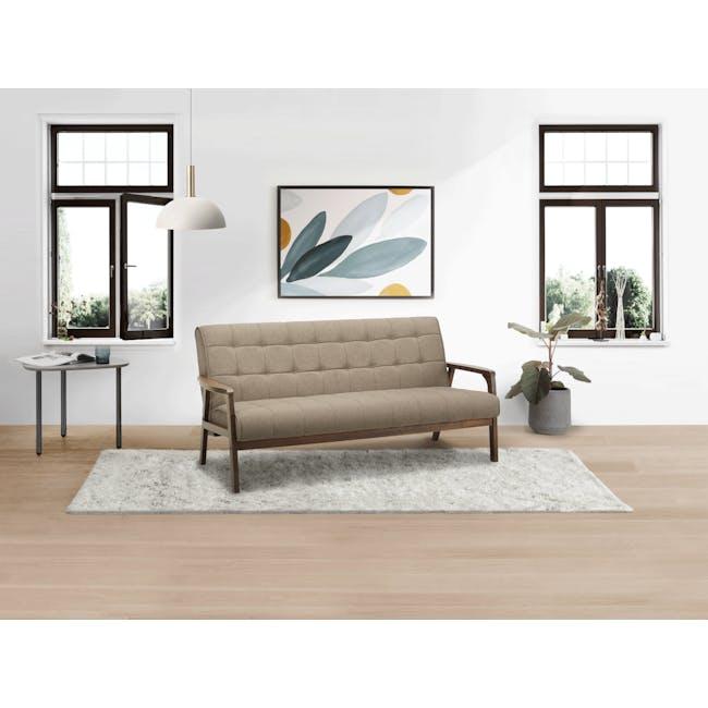 Tucson 3 Seater Sofa - Cocoa, Chestnut (Fabric) - 4