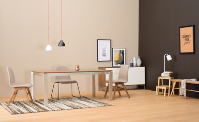 Elwood Dining Table 1.8m - Cocoa - Image 2