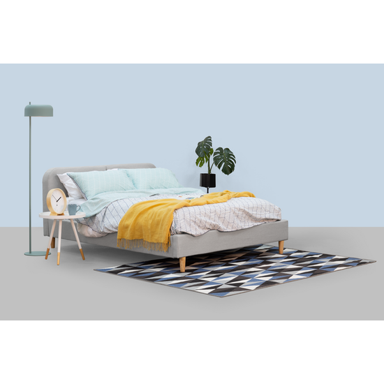 Beds - MLM - Nolan Queen Bed - Silver