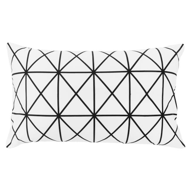 Geo Lumbar Cushion Cover - Prism - 0