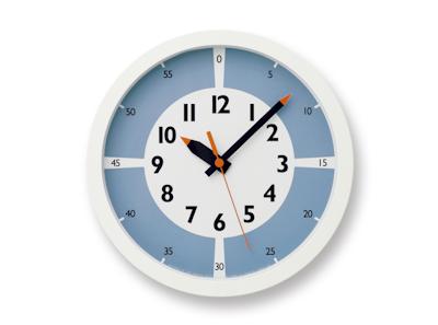 Montessori Fun Pun Clock Colour - Light Blue