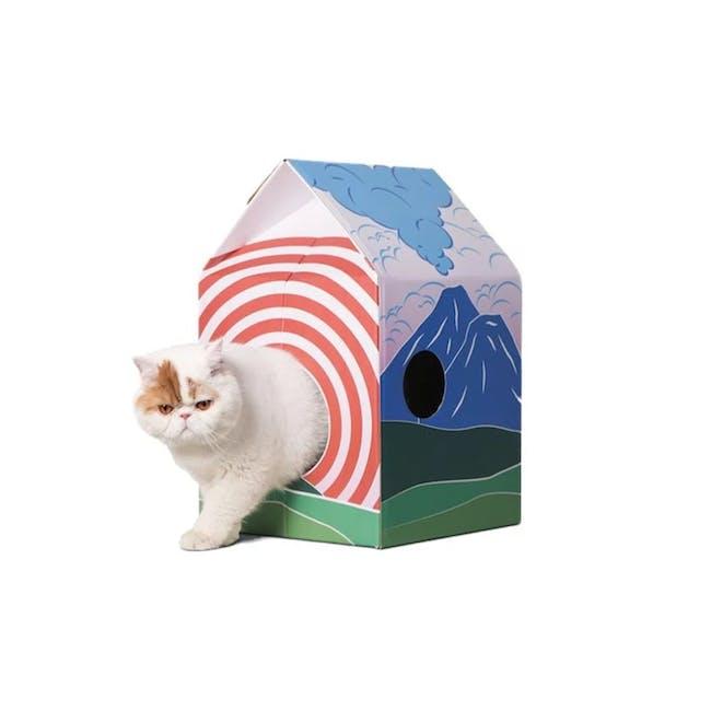 Pidan Cat Hut Scratcher - Mt. Fuji - 1
