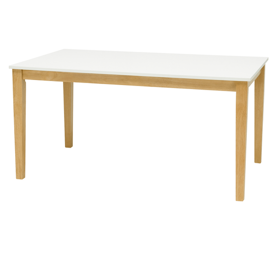Malmo - Paco Dining Table 1.5m - Natural, White
