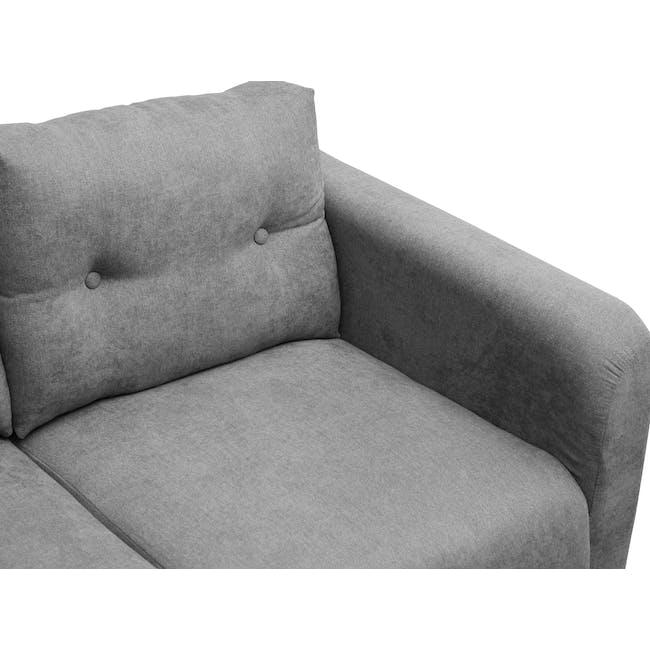 Bennett 2 Seater Sofa - Gray Owl - 5