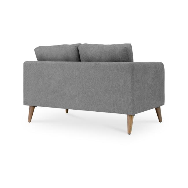 Bennett 3 Seater Sofa with Bennett 2 Seater Sofa - Gray Owl - 8