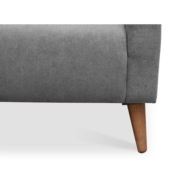 Bennett 3 Seater Sofa with Bennett 2 Seater Sofa - Gray Owl - 10