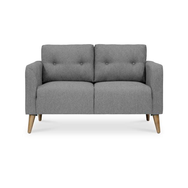 Bennett 3 Seater Sofa with Bennett 2 Seater Sofa - Gray Owl - 6