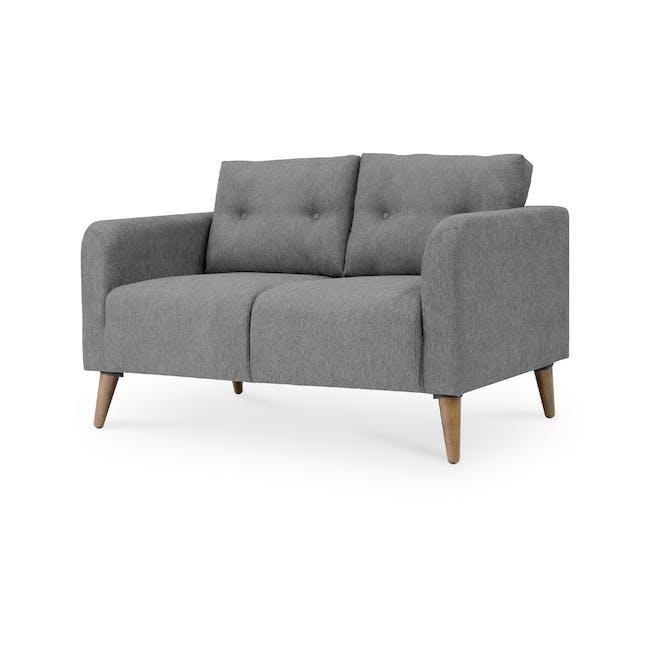 Bennett 3 Seater Sofa with Bennett 2 Seater Sofa - Gray Owl - 7
