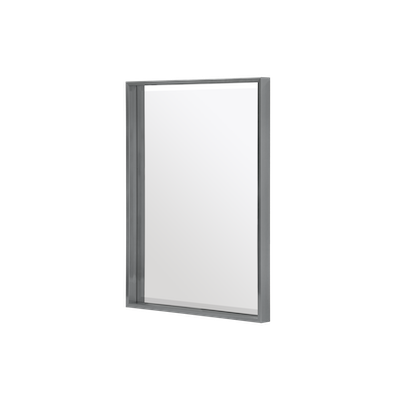 Julia Half-Length Mirror 60 x 80 cm - Slate Grey - Image 1