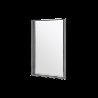 Julia Half-Length Mirror 60 x 80 cm - Slate Grey - Image 1