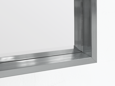 Julia Half-Length Mirror 60 x 80 cm - Slate Grey - Image 2